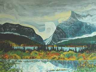 Vermillion Lakes by Mr. Dennis Brown - Masterpiece Online