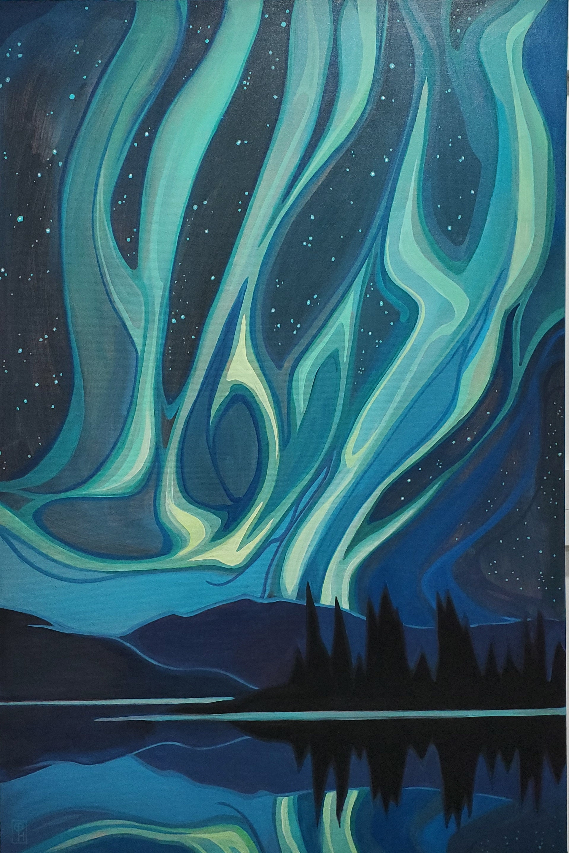 Dancing Night by  Erica Hawkes - Masterpiece Online