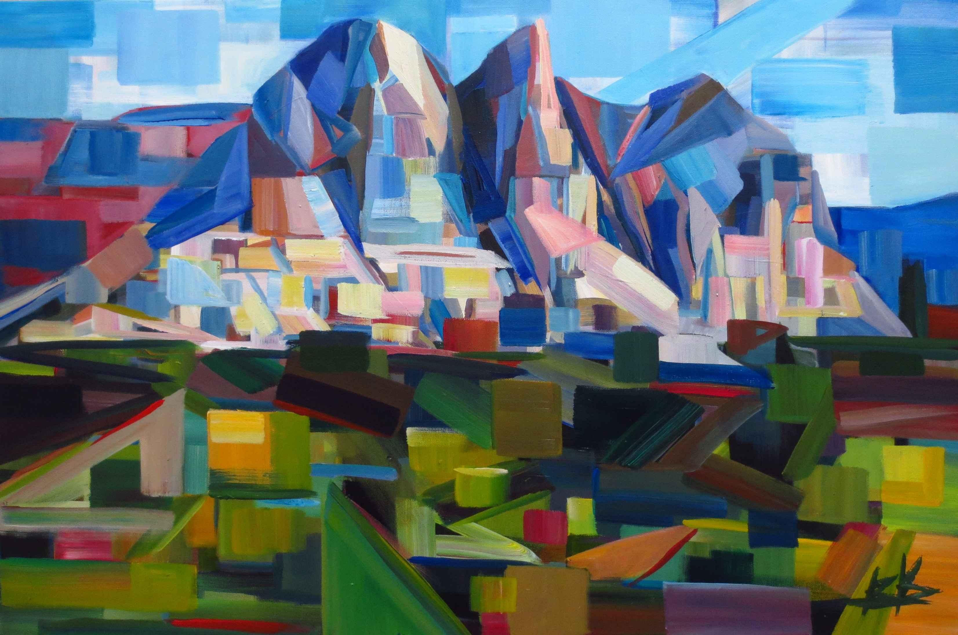 Morning Mountains by  Brooke Borcherding - Masterpiece Online