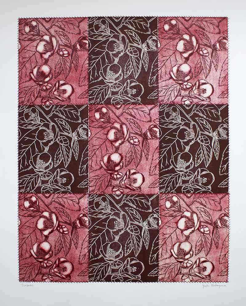 Tsubaki (Red) by  Yoshi Nakagawa - Masterpiece Online