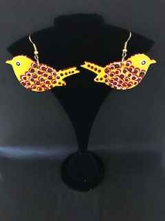 Canary earrings by Ms Irene Bowyer - Masterpiece Online