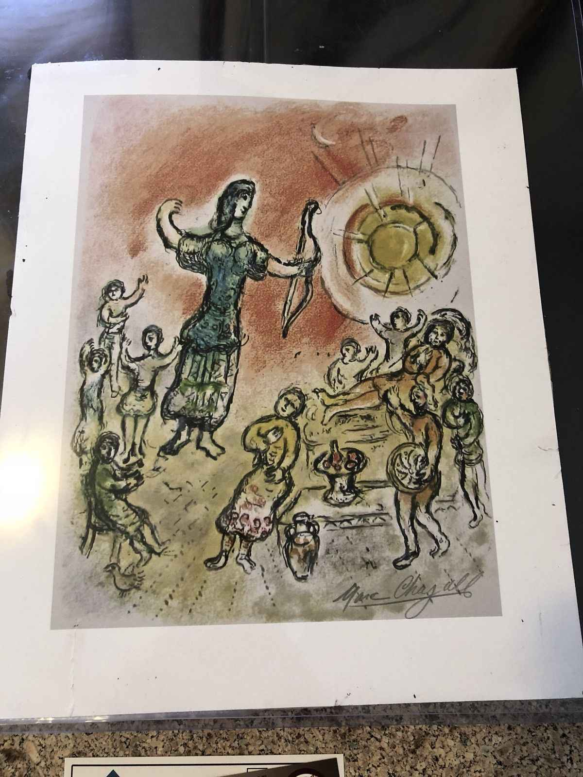 The Odyssey-Penelope ... by  Marc Chagall - Masterpiece Online