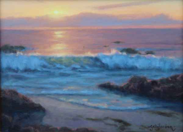 A Wave to the Sun by  Sally  Jordan - Masterpiece Online