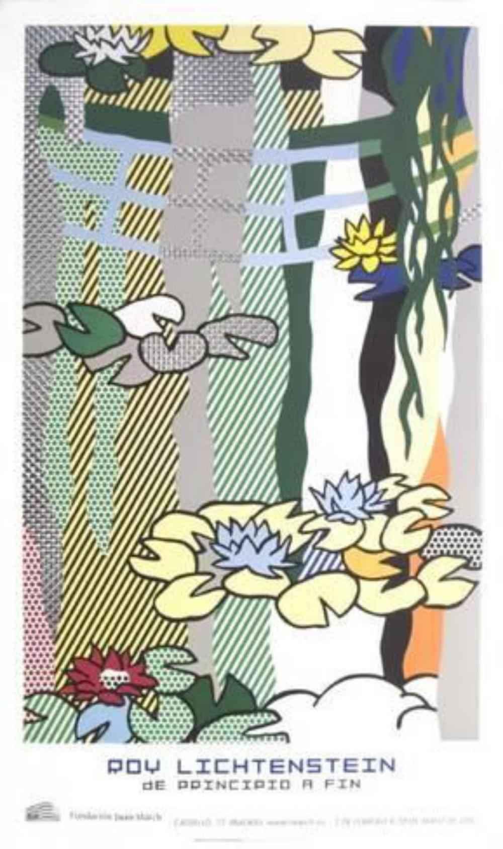 Water Lillies with Ja... by  Roy Lichtenstein - Masterpiece Online