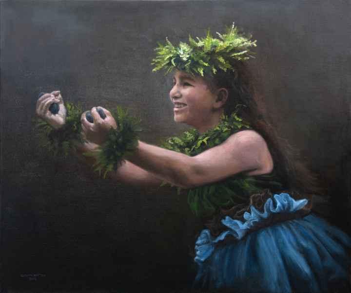 Kawena's 'Ili 'ili by  Edwin B. Kayton - Masterpiece Online