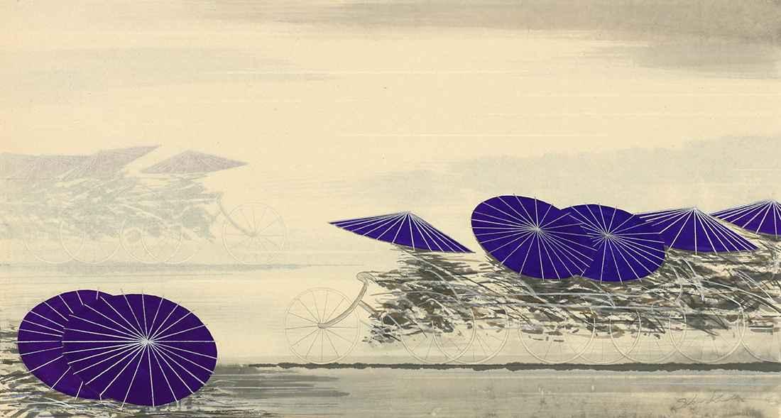 Wagasa-Purple by  Shigeki Kuroda - Masterpiece Online