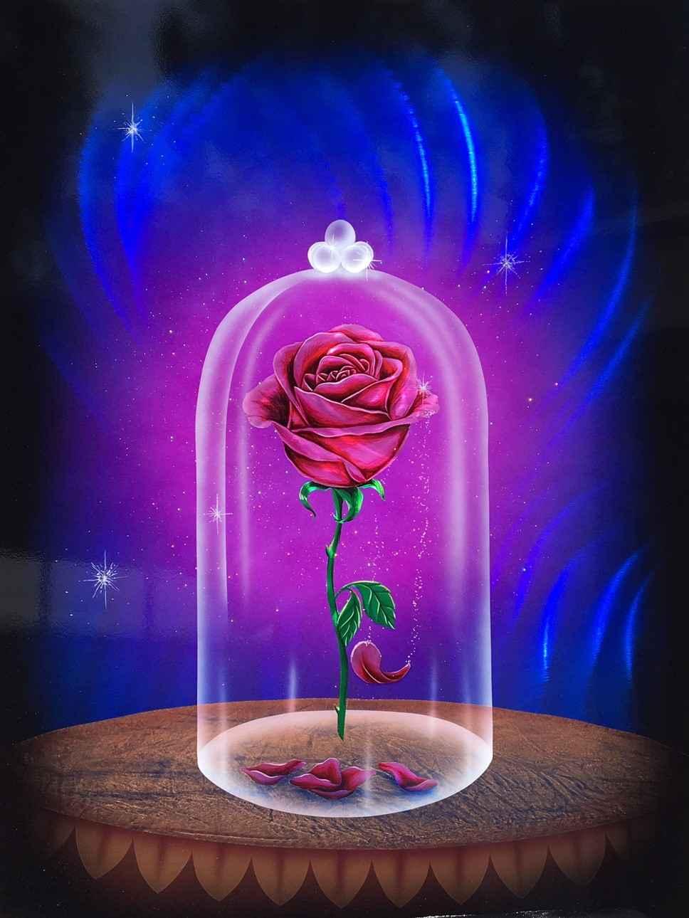The Enchanted Rose # 5 by  Cris Woloszak - Masterpiece Online