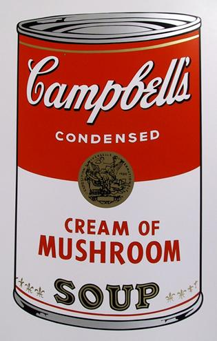 Campbells Cream of Mu... by  Andy Warhol - Masterpiece Online