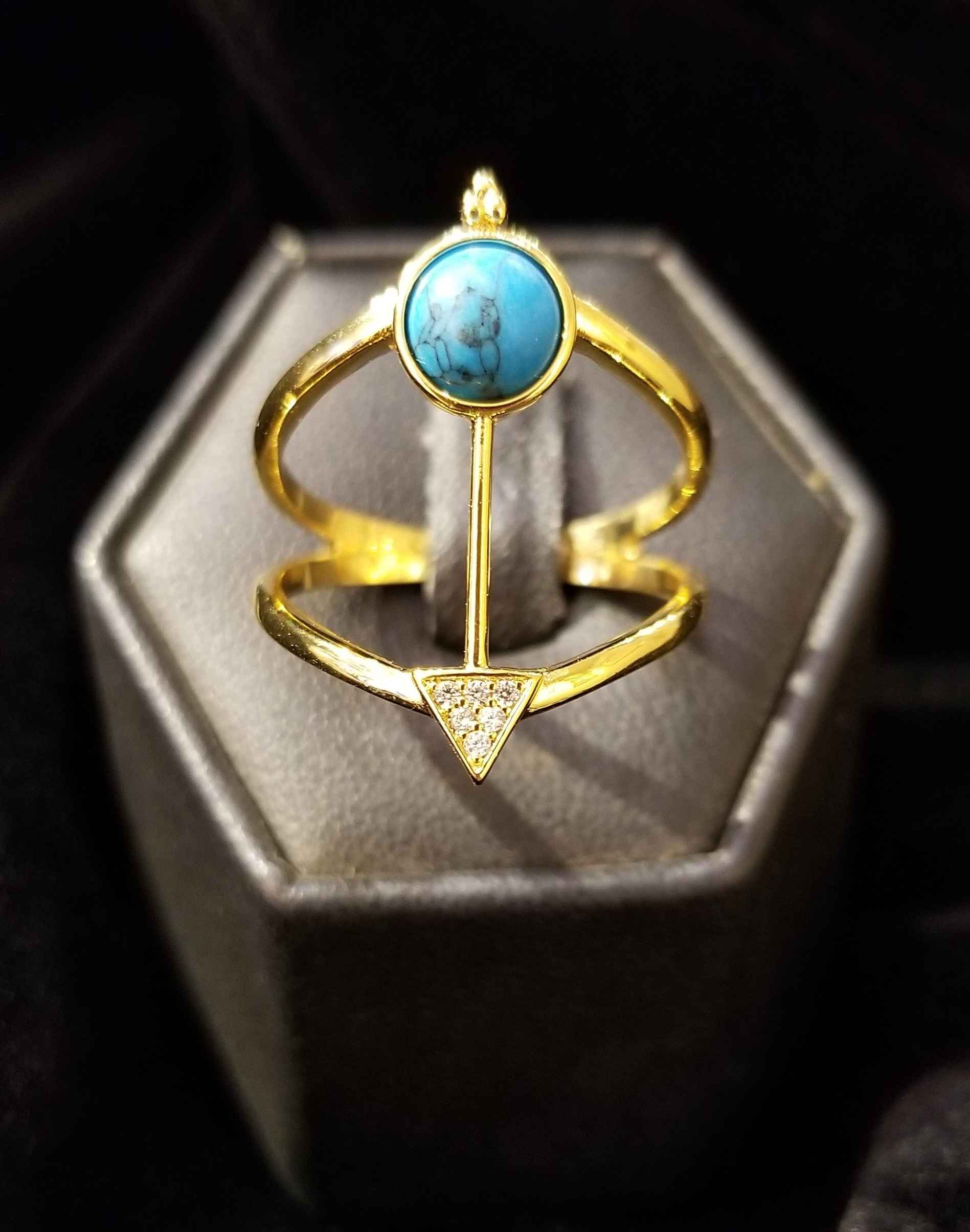 Ring - GP Turquoise by  Gallery Pieces - Masterpiece Online