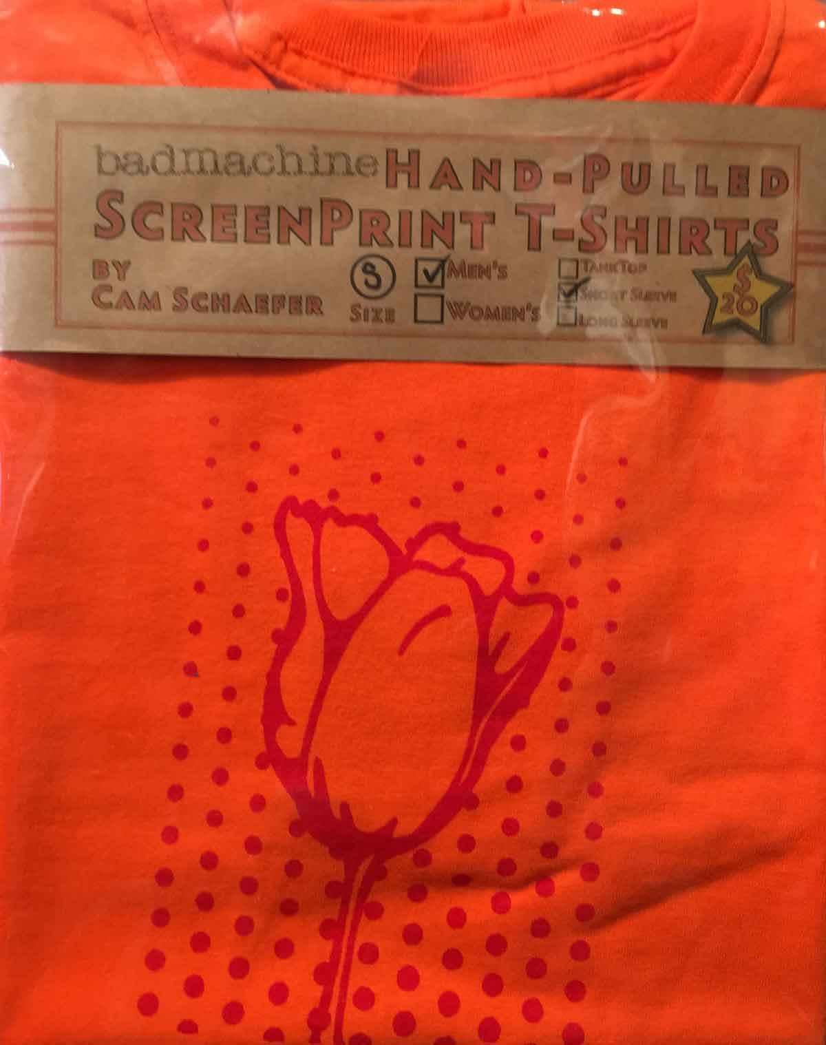 Orange Tulip T-shirt ...