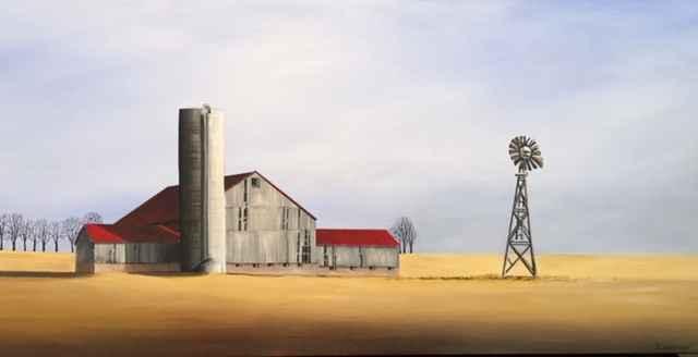 Golden Days by  Janet Liesemer - Masterpiece Online