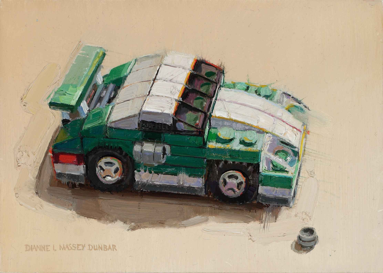 Sports Car by  Dianne Massey Dunbar - Masterpiece Online