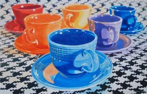 Fiestaware by  Rodney Moser - Masterpiece Online