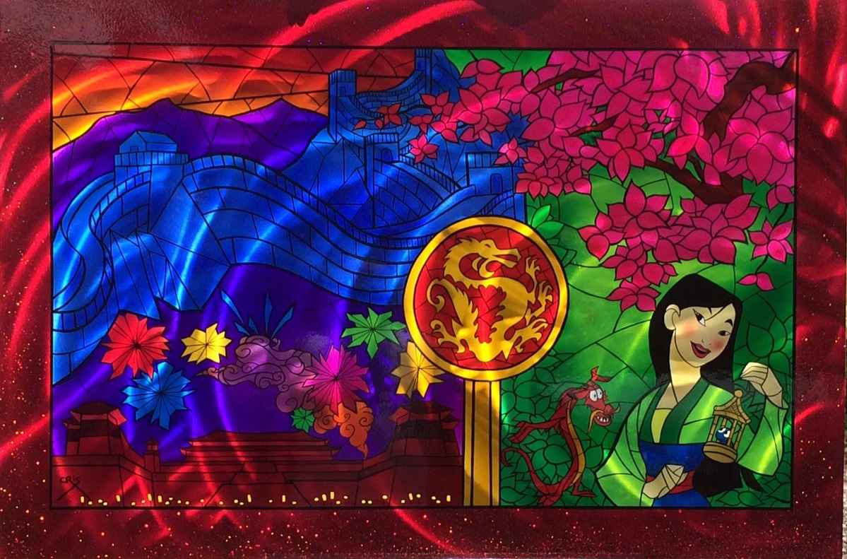Colorful Dynasty #2 by  Cris Woloszak - Masterpiece Online