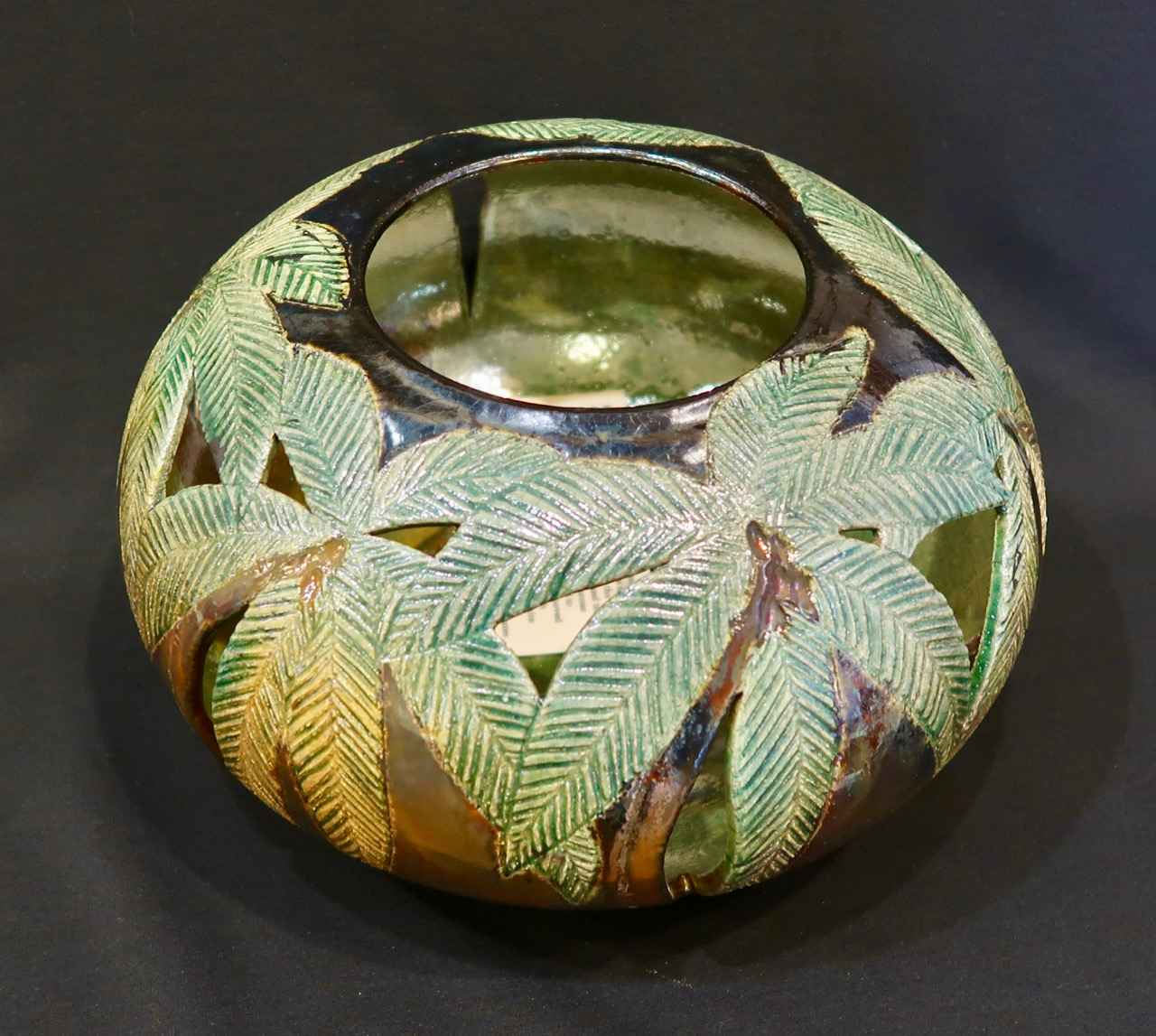 Raku Fired Vessel, 6 ... by Ms. Birgitta Frazier - Masterpiece Online