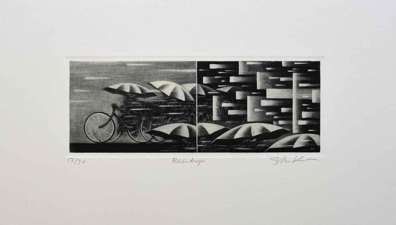Raindrops by  Shigeki Kuroda - Masterpiece Online