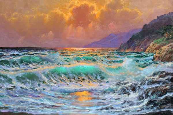 Pacific Glow  by  A Dzigurski II