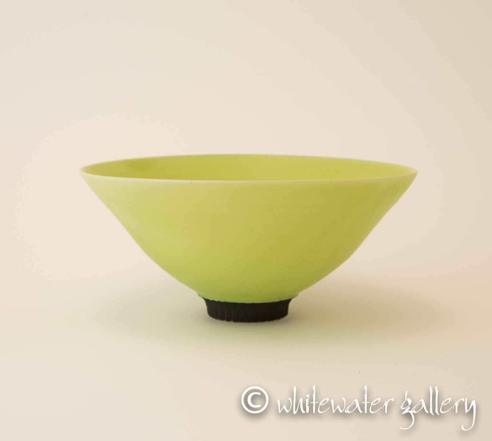 Electric Green Bowl by  Hugh West - Masterpiece Online