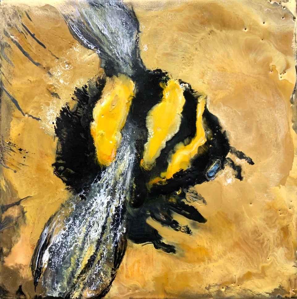 Golden Bee by  Kathy Bradshaw - Masterpiece Online
