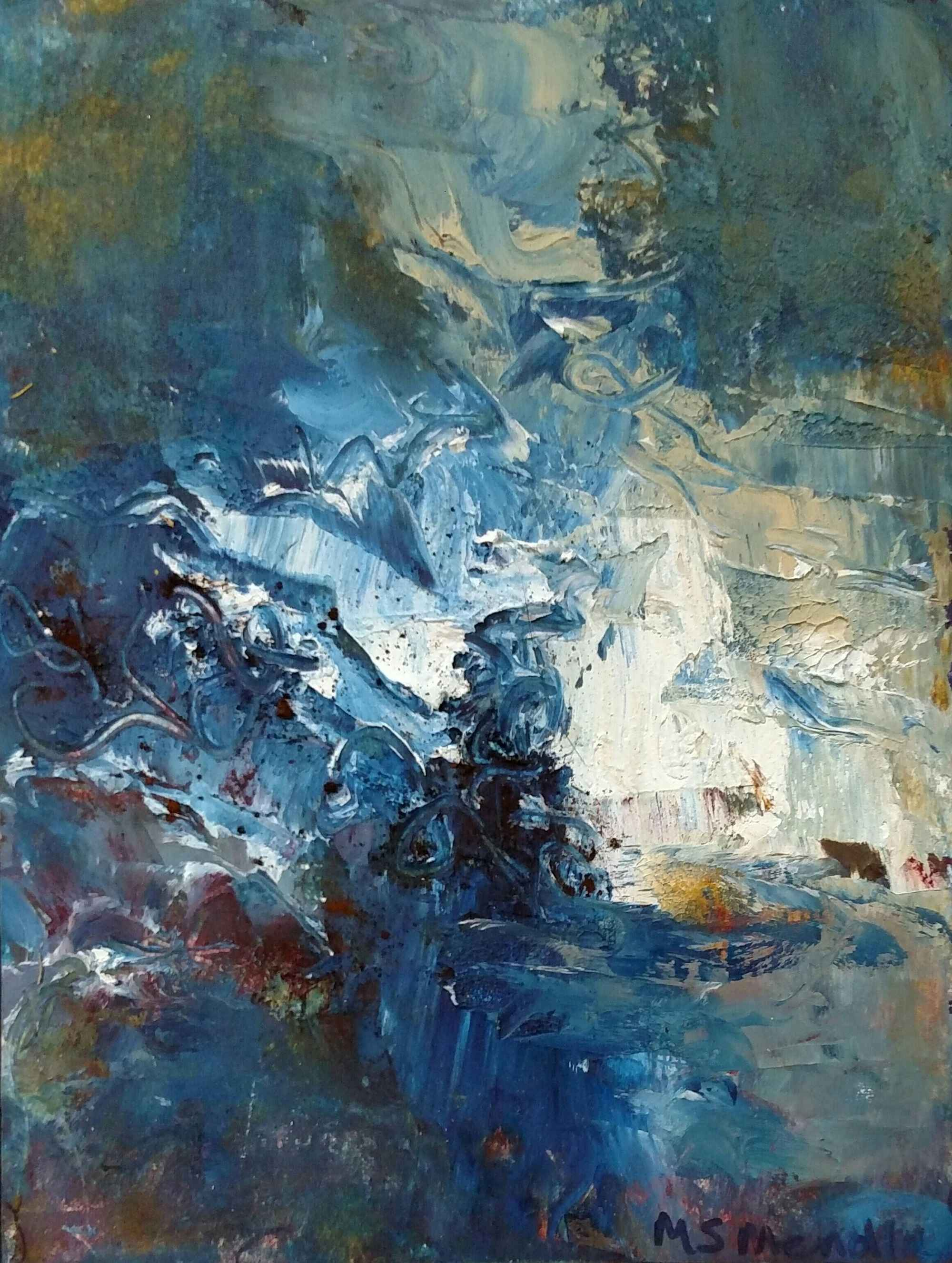 Upper Falls, I by  Mary Mendla - Masterpiece Online
