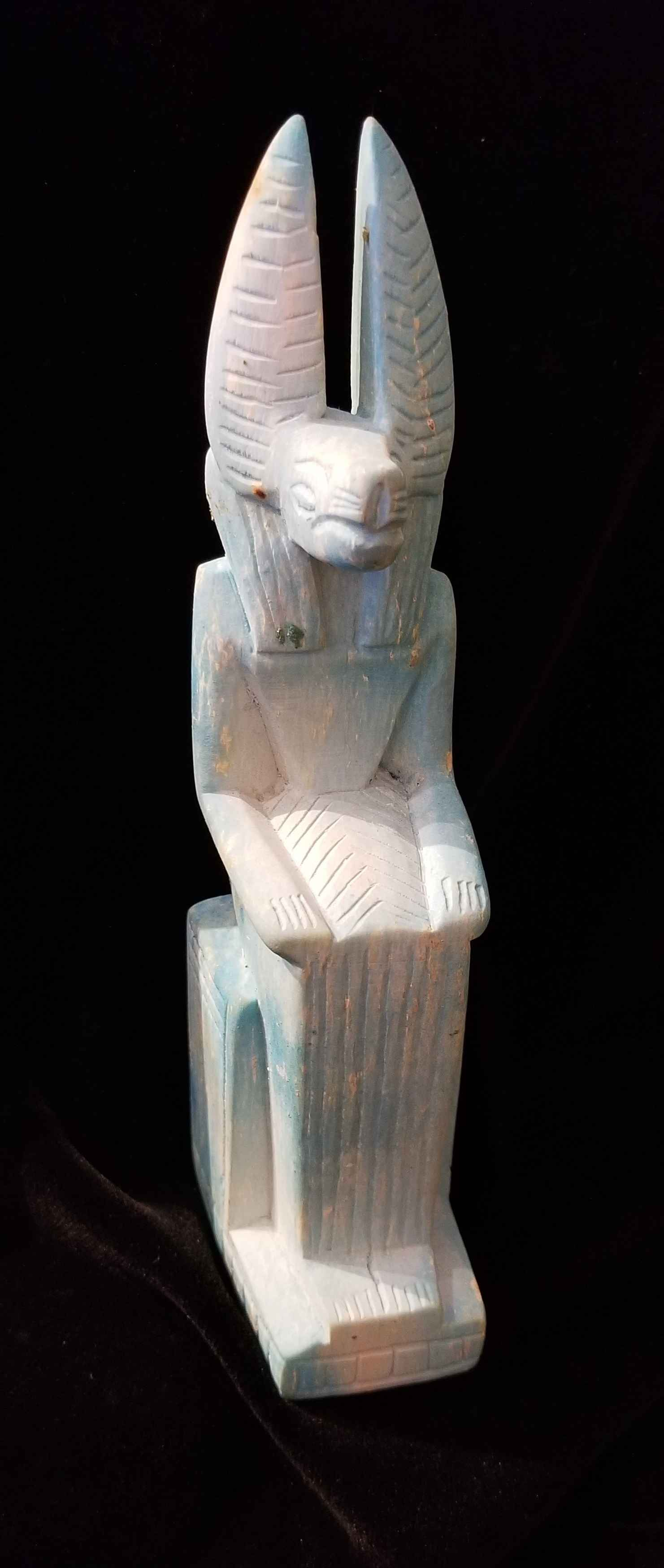 Anubis Sitting by  Egyptian Treasures - Masterpiece Online