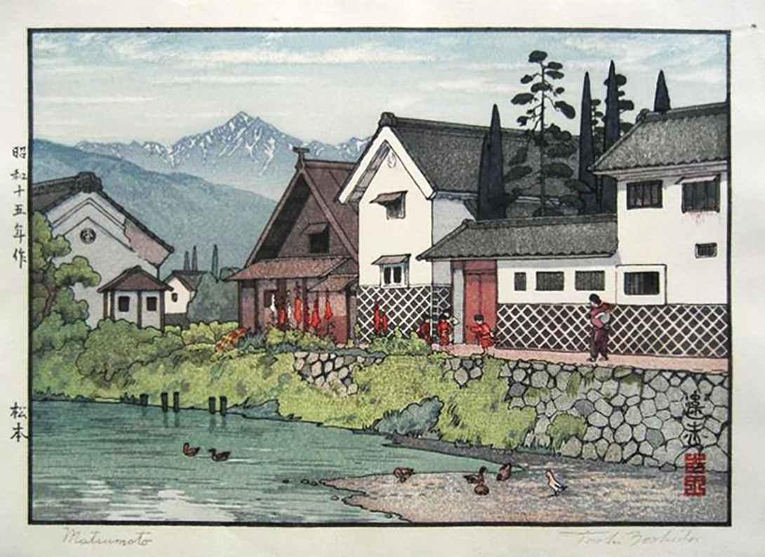 Matsumoto by  Toshi Yoshida - Masterpiece Online