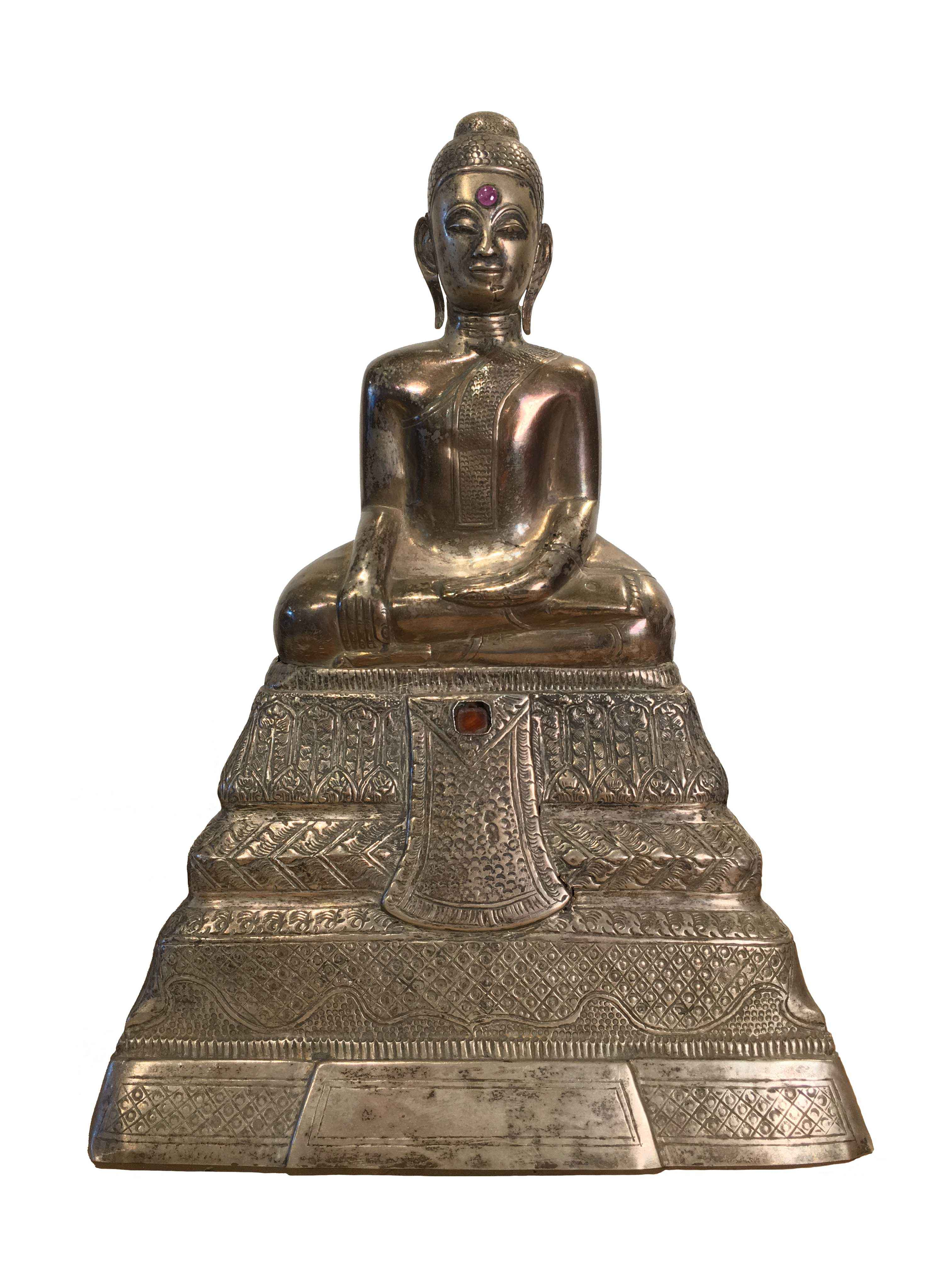 CAMBODIAN SILVER BUDD... by    - Masterpiece Online
