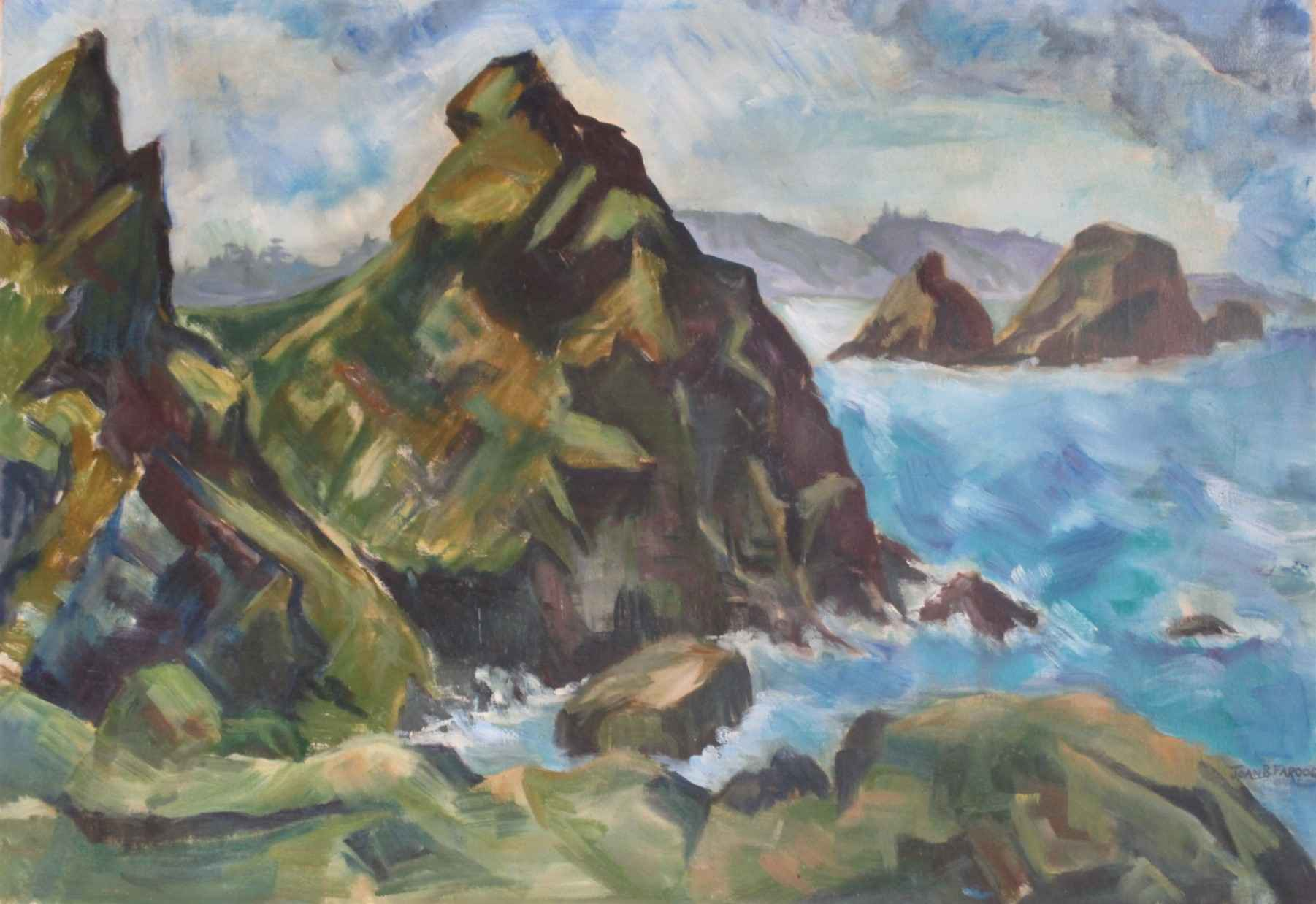 Stack Rock by  Joan Farooqui - Masterpiece Online