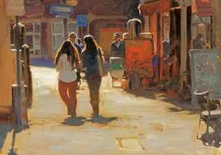 Walk Through the Haag by  Kim English - Masterpiece Online