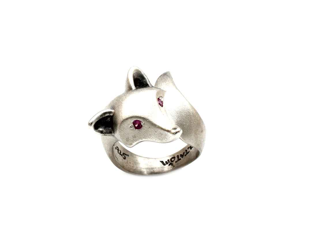 Smooth Fox Ring With ... by  Michael Tatom - Masterpiece Online