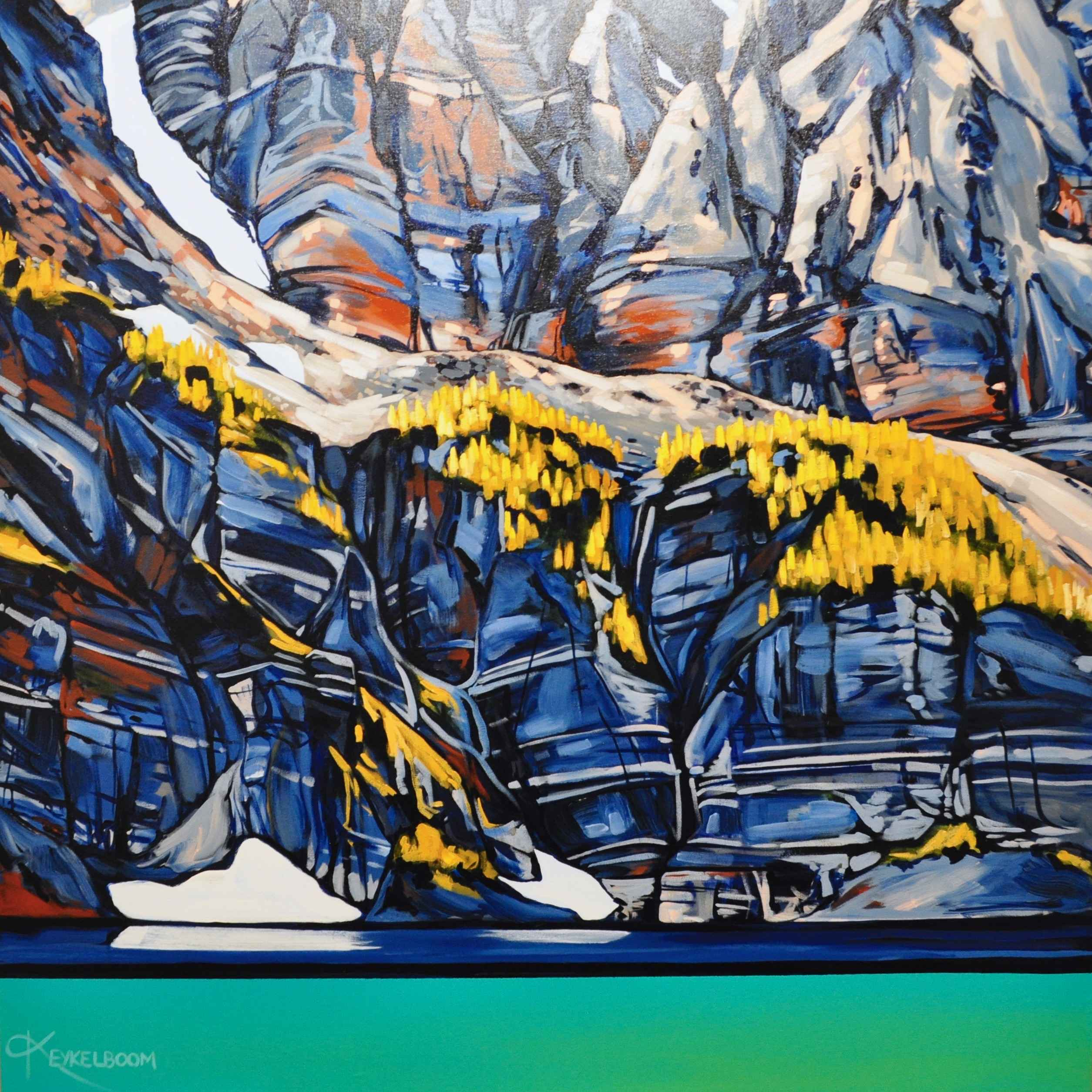 Larches at Taylor Lake by  Kayla Eykelboom - Masterpiece Online