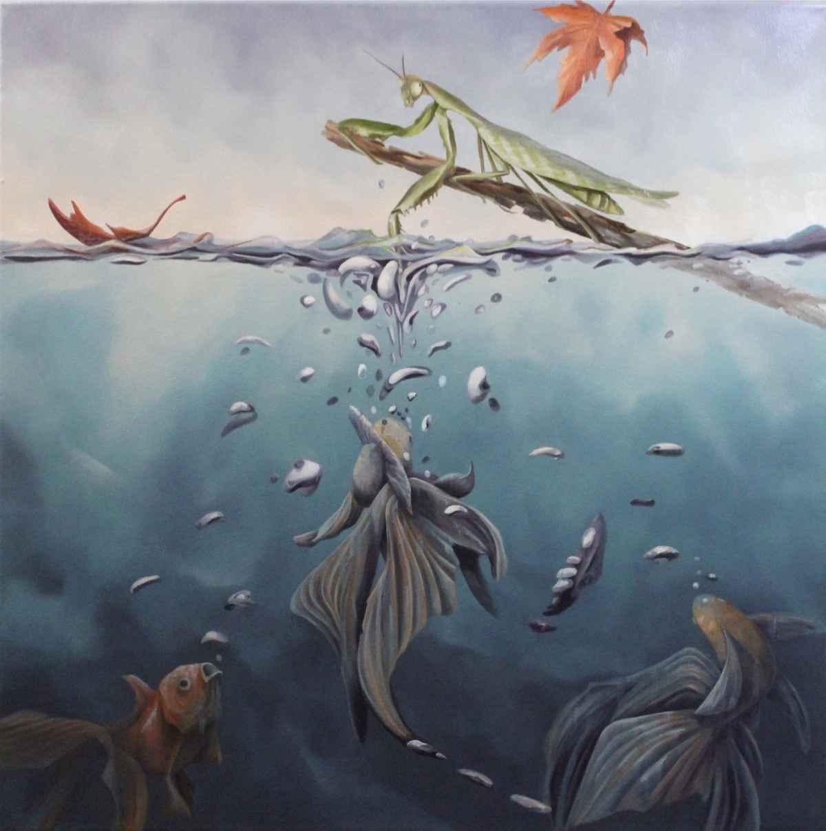 Mantis by  Steve Bowersock - Masterpiece Online