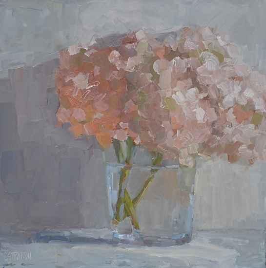 Hydrangea by  Clare Stratton - Masterpiece Online