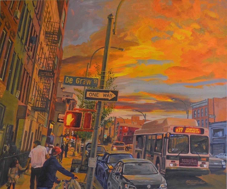 Brooklyn Ablaze by Mr. Jerry Steingraeber - Masterpiece Online