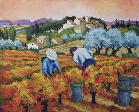 Jour de Vendange by   Triolet  - Masterpiece Online