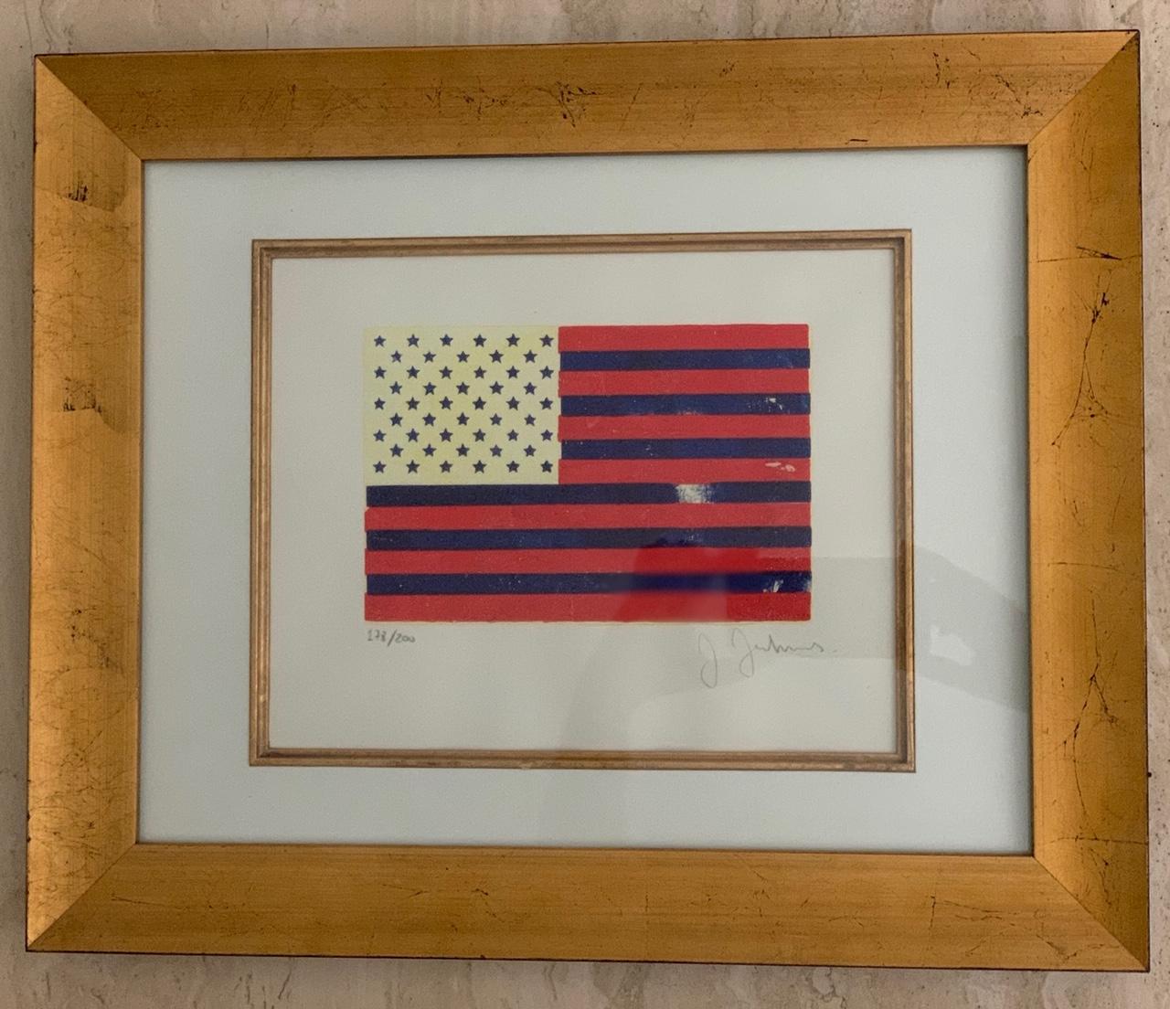 Flag by  Jasper Johns - Masterpiece Online