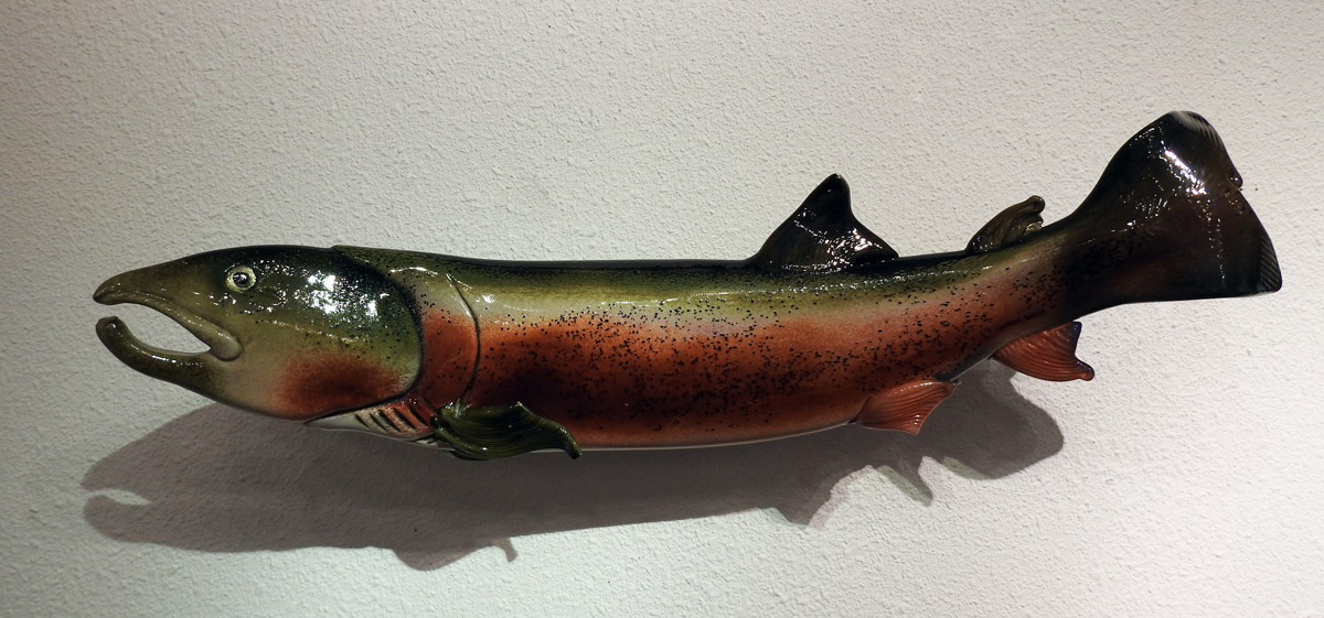 Large Salmon/Pink by  Cliff Goodman - Masterpiece Online