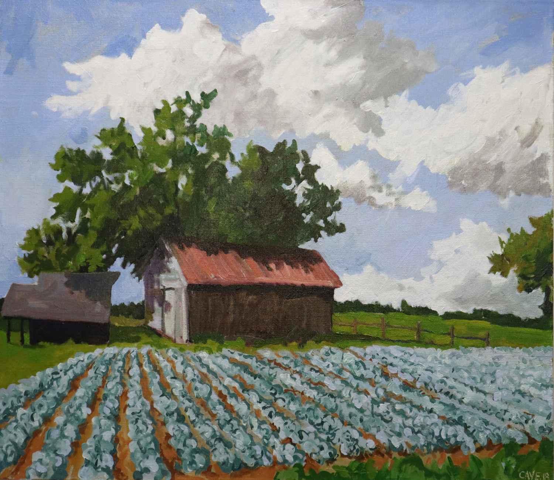 Collard Field #6 by  Joseph Cave - Masterpiece Online