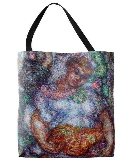 Tote bag, Hawaiian Br... by  Madge Tennent (1889-1972) - Masterpiece Online