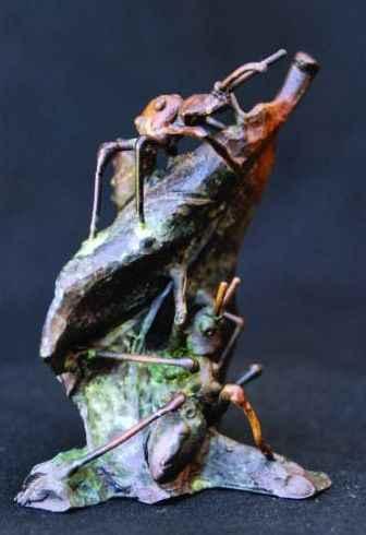 Ants  by  Dan Chen - Masterpiece Online