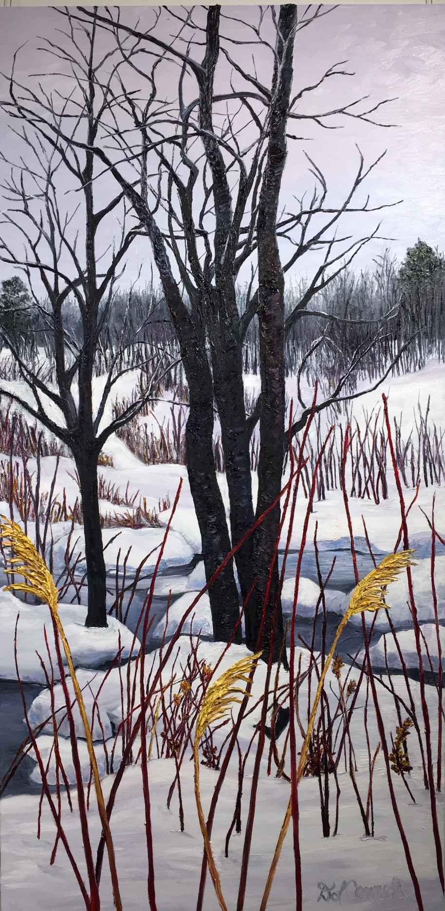 Brightening A Winter ... by Ms Debra Lynn Carroll - Masterpiece Online