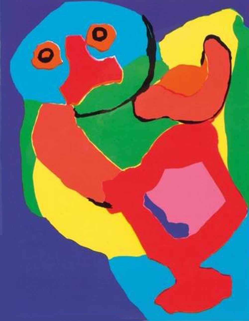 Dancing Man by  Karel Appel - Masterpiece Online