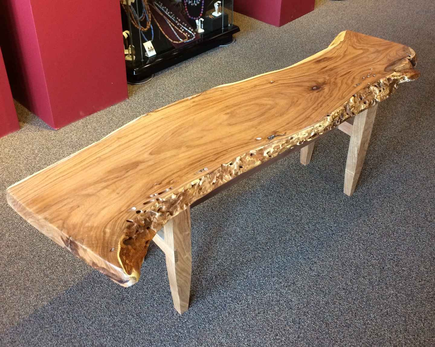 Mesquite Bench by  Judd Lotts - Masterpiece Online