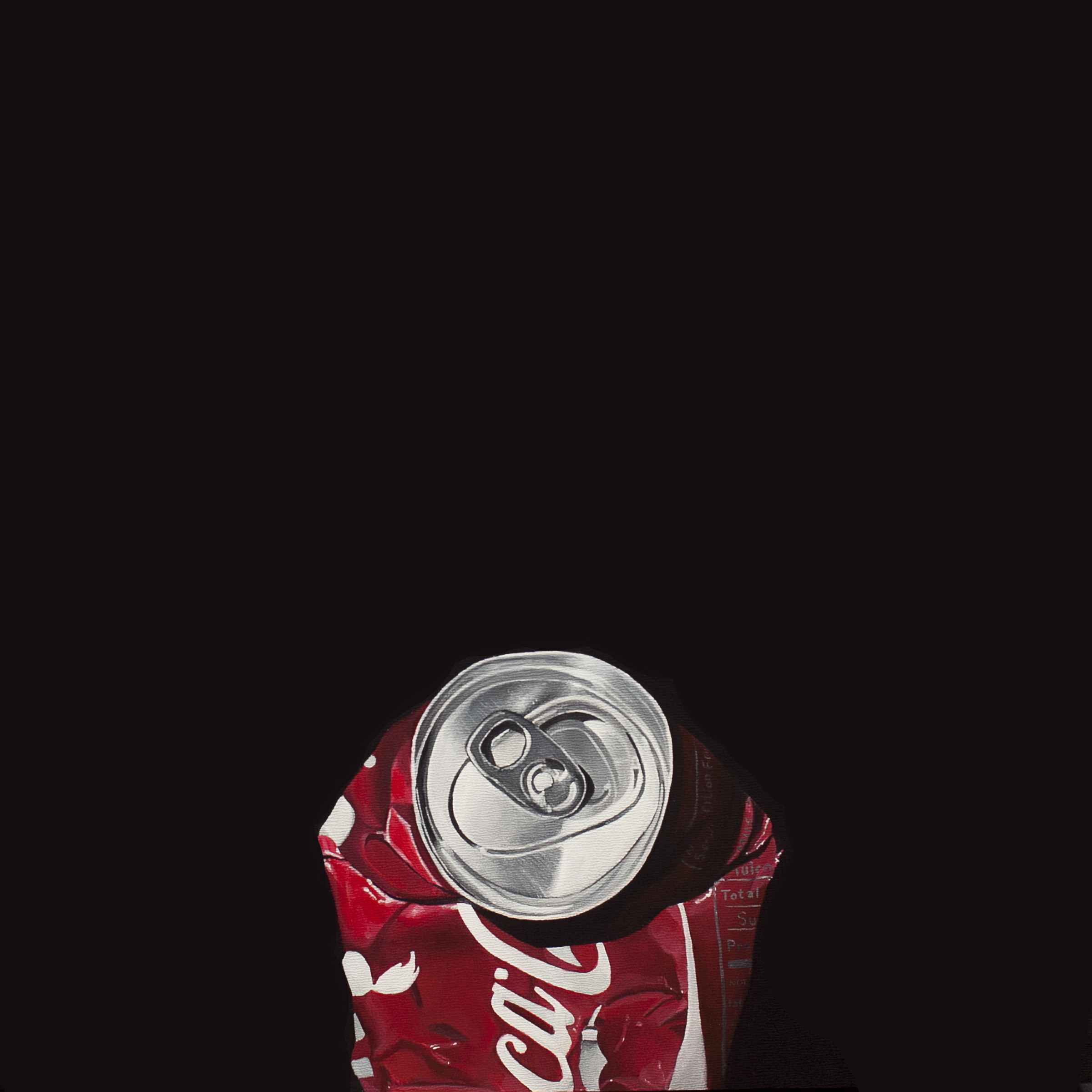 Crushed Coke Can No. 1  by  James Zamora