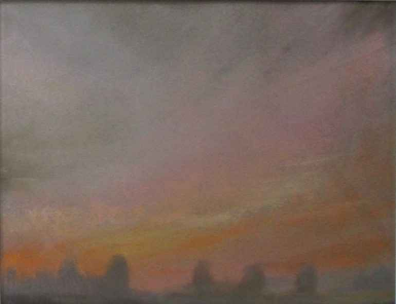 Sunset on Sauvies by  Jeff White - Masterpiece Online