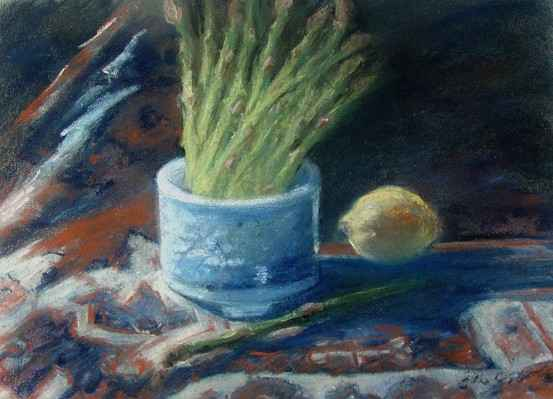 Asparagus by  Ellen McCluskey - Masterpiece Online