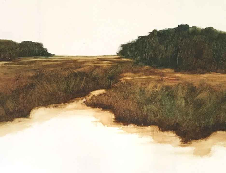 Clark Island Tide  by  Susan Leggitt