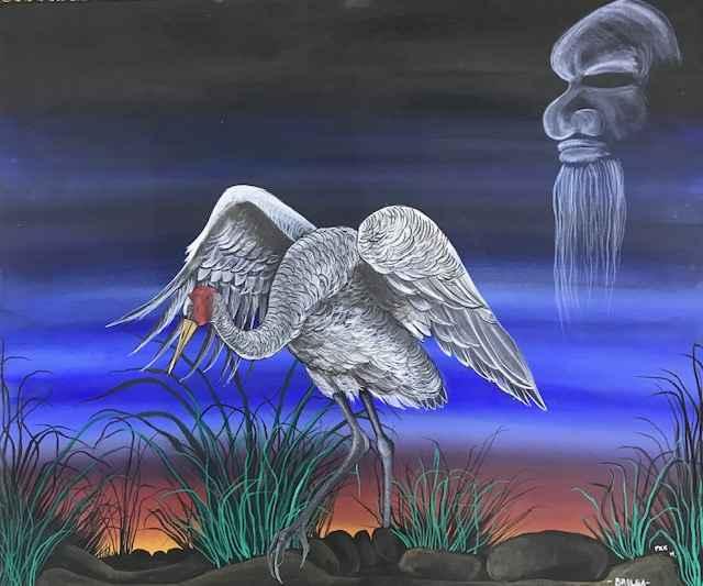 Brolga by  Peter Kulla Kulla - Masterpiece Online