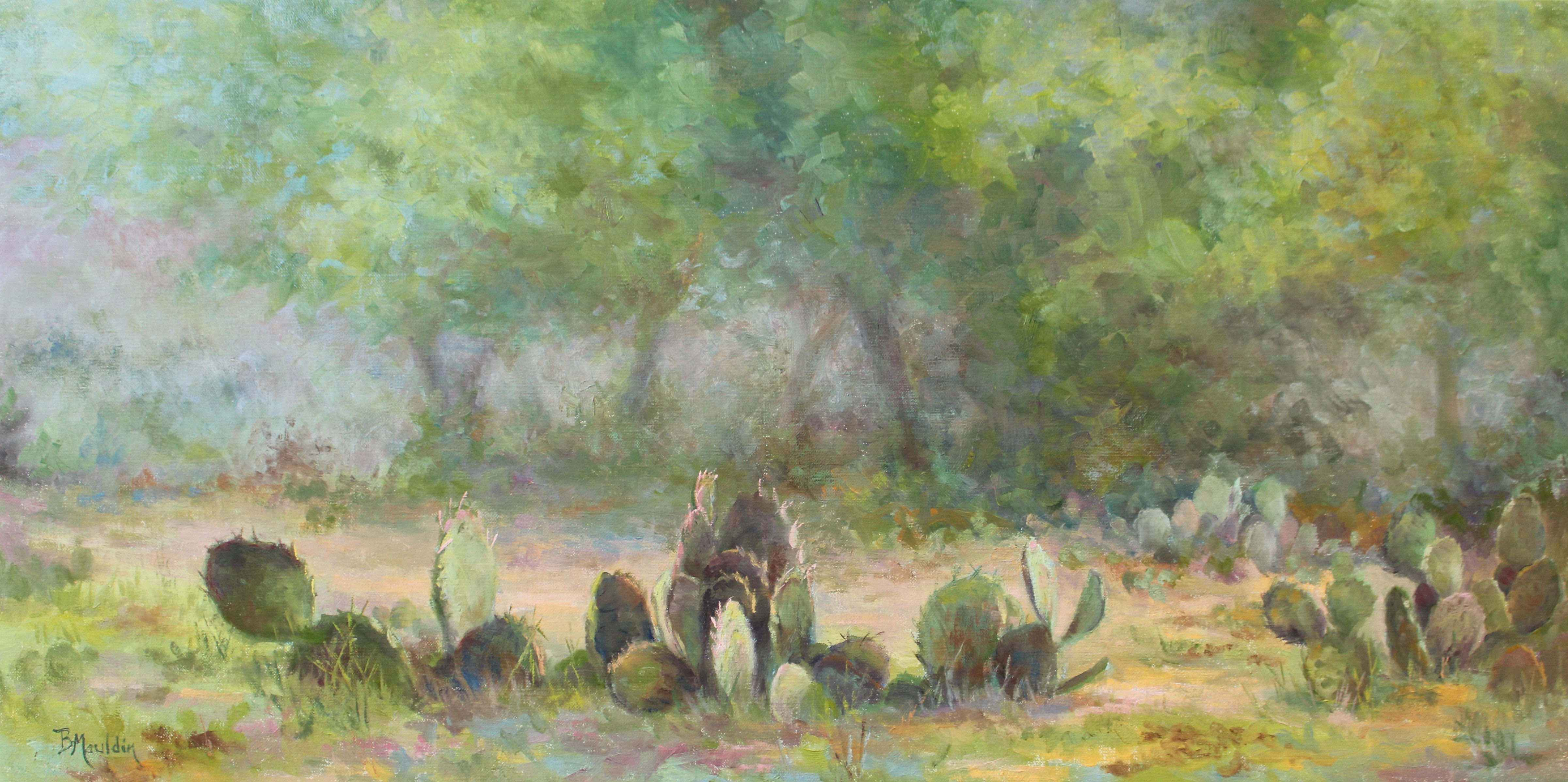 Cactus and Fog by  Barbara Mauldin - Masterpiece Online