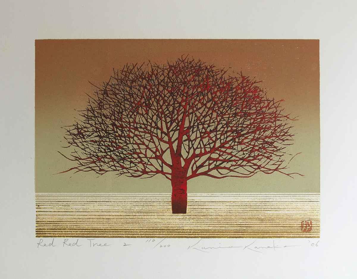 Red Red Tree 2 by  Kunio Kaneko - Masterpiece Online